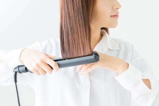美髪をつくるヘアアイロン