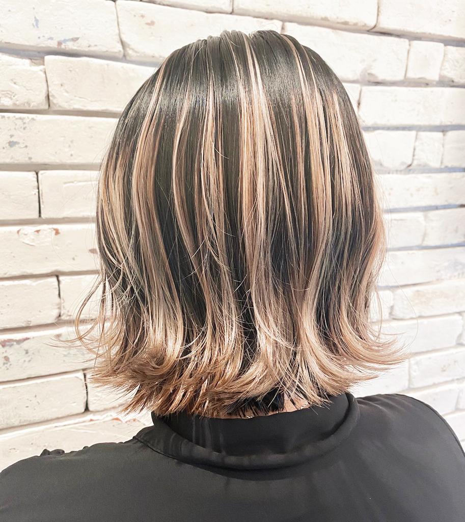 髪質改善×ボブスタイル