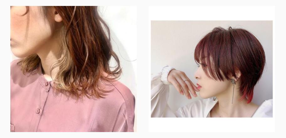 美容師 スタイリング