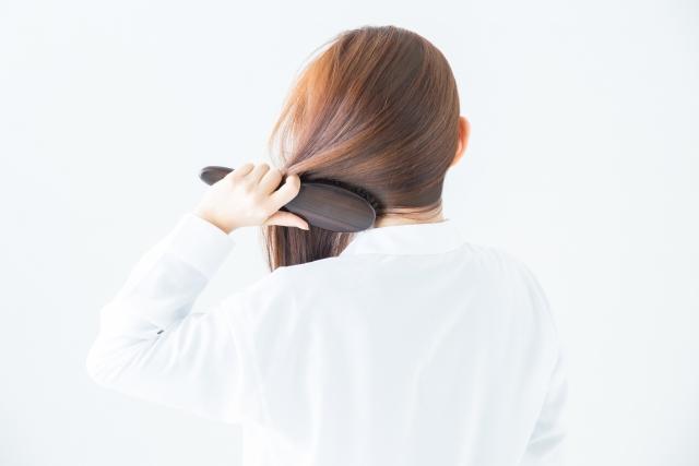 美髪にするブラッシング方法