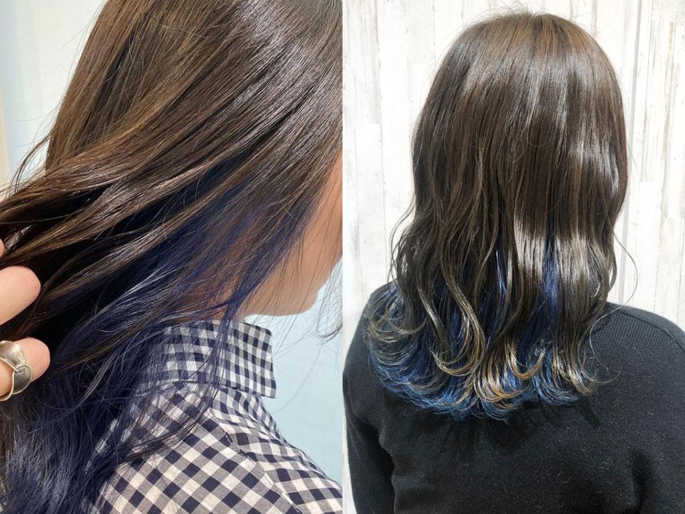 ブルー系ヘアカラーの魅力!お気に入りが見つかるヘアカタログ