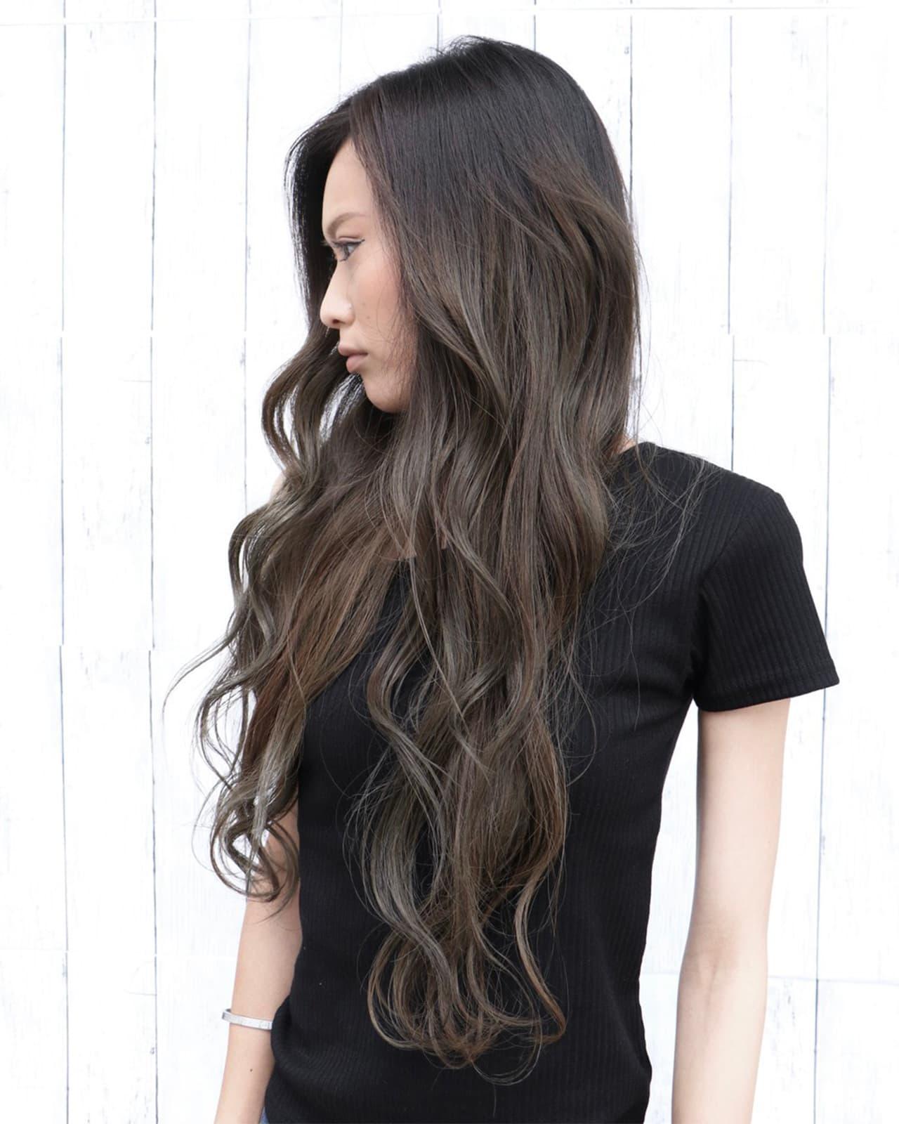 黒髪×ハイライトってどんなデザインがあるの?