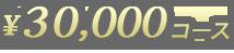 30000円コース