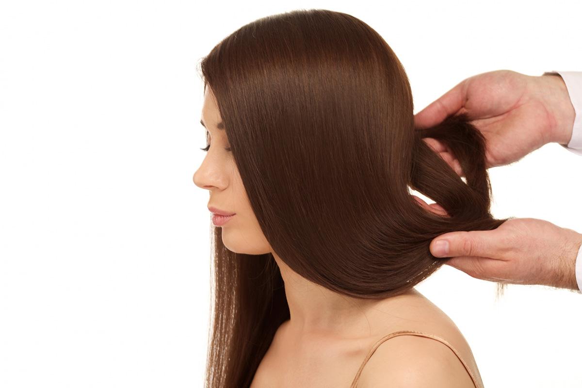 自宅での髪質改善