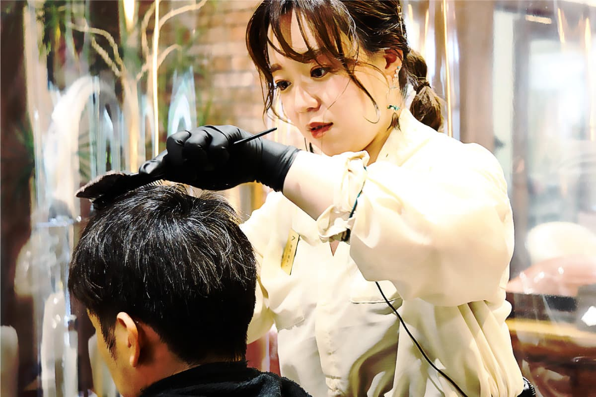 美容師パートスタイリスト アシスタント